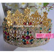 Blumenschmuck Dekoration europäischen Mode dekorative Metall Kronen
