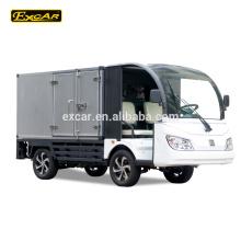 2 Seater mini sightseeing car electric food truck 72V Trojan electric mini truck