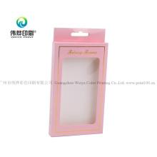 Custom Luxury Lovely Mobile Phone Case Papre Packaging Box