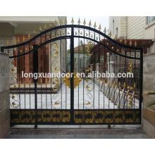Main entrance steel wrought iron door for house/villa/apartment
