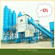 HZS90 fábrica de tratamento de betão novo produto planta de mistura de concreto exportação para a Mongólia / Rússia / Sri Lanka / Líbia / Argélia