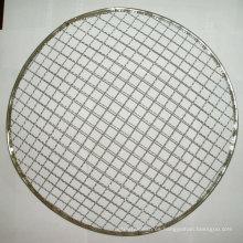 La parrilla galvanizada de alta calidad preparó la red de la parrilla del Bbq de la malla de alambre