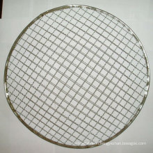 High quality galvanized barbecue crimped wire mesh BBQ grill net