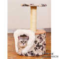 Factory Direct Price Pet Products Paradise Cat Climbing House Tree Cat Scratcher Tree