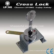 Utiles Croix serrure à cylindre à clé pour coffre
