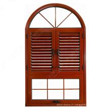 Fenêtres à persiennes ajustables en PVC