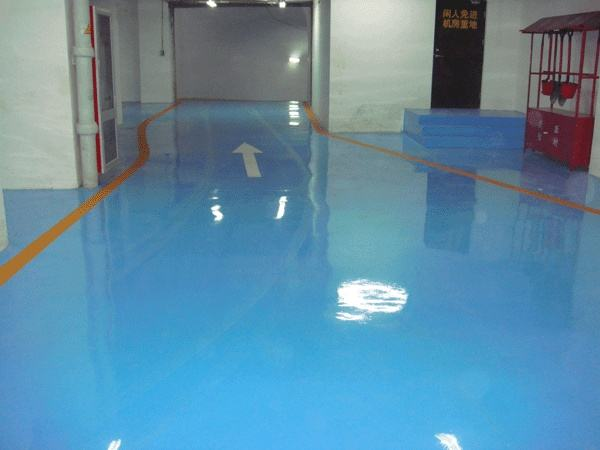 Indoor Solvent Free Epoxy Self Flowing Flat Paint