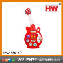 Hot Sale B / O crianças plástico brinquedo dançando kits de guitarra elétrica