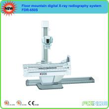 Équipement de radiographie numérique à rayons X à haute fréquence 650m FDR-650s Type de plancher de montagne