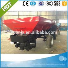 tractor de cuatro ruedas arrastrado esparcidor de fertilizante con precio barato para la venta