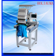 Holiauma Single Head Computer Embroidery Machine for 3D Cap T-Shirt Flat Embrodiery
