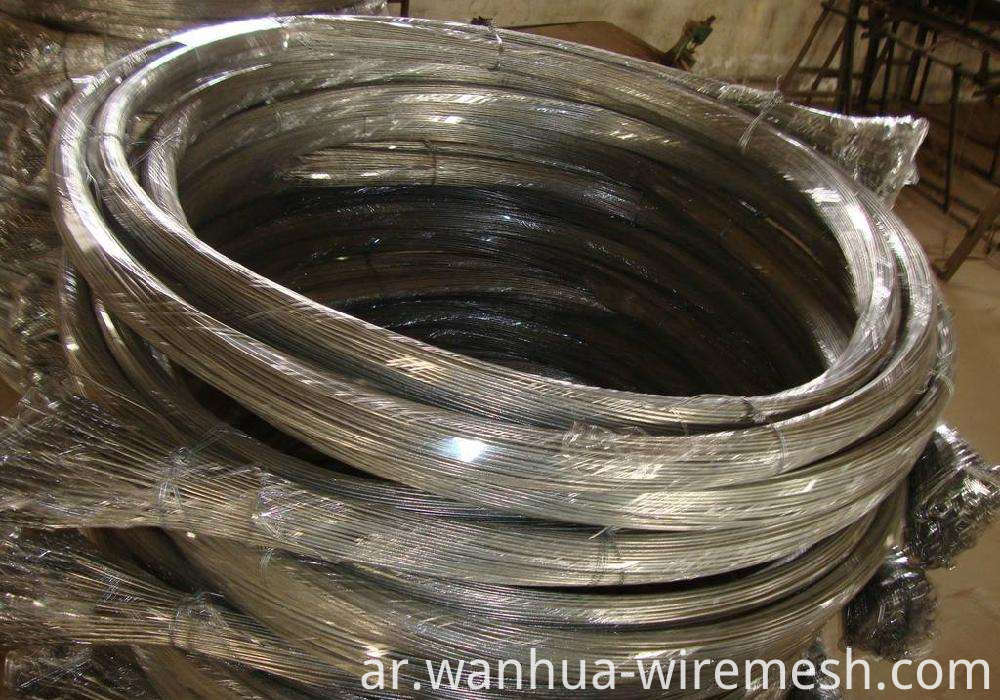 Cotton bale ties galvanized 4.5 mm wire rod (1)