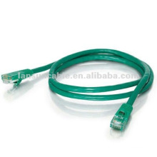 15ft-green-standard boot-UTP Cat5e cable 4 pair