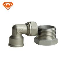 fabricación de conexiones rápidas sanitarias de acero inoxidable