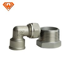 fabrication sanitaire de raccord rapide d'acier inoxydable sanitaire
