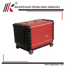 china portable generator diesel 7kva with price, 7 kw diesel power generator for sale, small silent diesel generator 7.5 kva