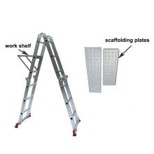 aluminium multipurpose ladder/ aluminium mehrzweck leiter