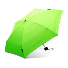Haute qualité promotion super léger petit pliage mini 5 pli parapluies avec pouth