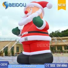 Decoración inflable gigante de la Navidad Navidad Santa Santa inflable