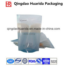 Laminated Plastic Facial Mask Bags with Tear Mouth and Ziplock