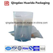 Ламинированные Пластиковые маски лицевые мешки со слезоточивым рот и ziplock