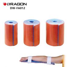 DW-FA012 Attelle thermoplastique jambe médicale pour la protection