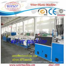 câble PVC pipe ligne extrusion plastique