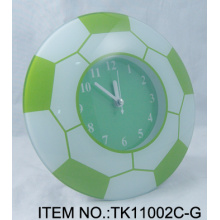 Green Football Table Clock