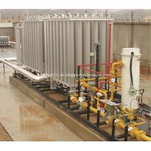 Kryogene Flüssigkeit Vaporizer rahmenmontierte Anlagen