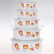 High quality as sublimation bowl Enamel coating enamel bowl