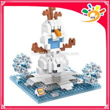 plastic kids educational building blocks loz toy