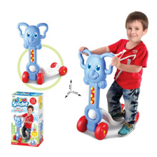 Crianças, passeio, brinquedo, crianças, pontapé, scooter, (h9609002)
