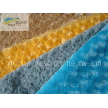 PV Plush Fabric For Upholstery and Garment
