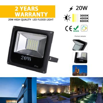 Proyector LED 20W impermeable exterior IP68