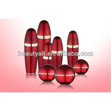60ml 80ml 120ml Botella cosmética de la loción de la forma de la bola, embalaje cosmético, botella acrílica de la loción