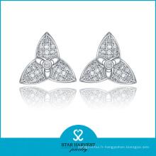 Boucles d'oreilles personnalisées de charme d'étoiles (E-0001)