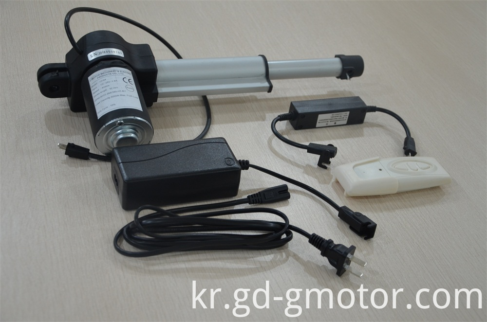 Linear Actuator For Adjustable Bed