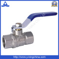 Vanne à bille en cuivre pour vannes (YD-1017)