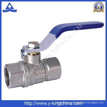 Латунный медный шаровой кран для клапанов (YD-1017)