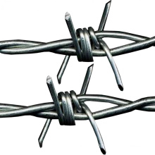 Made in China 200m Length Double Stranded Wire High Tensile Galvanised Steel Barbed Wire