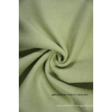 Wool Fabric Green Double Face