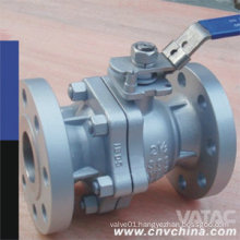 """Wcb/CF8/CF8m 1/4"""" Flanged Ball Valve with Lever Operated"""