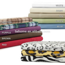 Ensemble de draps Premier Comfort Cosy Spun All Seasons Plaid 145gsm