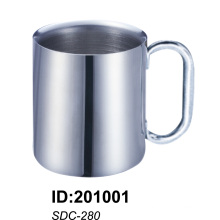 18/8stainless Steel Doubled Wall Mug Sdc-280