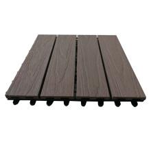 Factory Price DIY Deck Tiles Wood Plastic Composite Flooring Tile