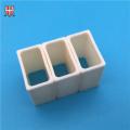 injection moulding alumina ceramic square thin tube pipe