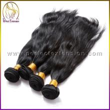 Natives roh Unprocesse virgin indischen Haar Weben kostenlose Proben aller Produkte