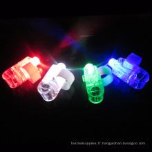 Lumière de doigt de laser partie LED