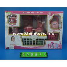 Juego de combinación de plástico, juego de cocina juguetes (259813)