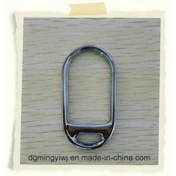 Fundição de zinco para o anel chave que obteve a qualidade garantida feita na fábrica chinesa